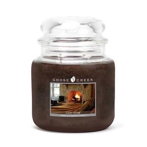 Vonná svíčka ve skleněné dóze Goose Creek Útulný domov, 0,45 kg