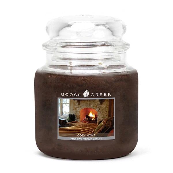 Kényelmes Otthon illatgyertya üvegben, égési idő 75 óra - Goose Creek