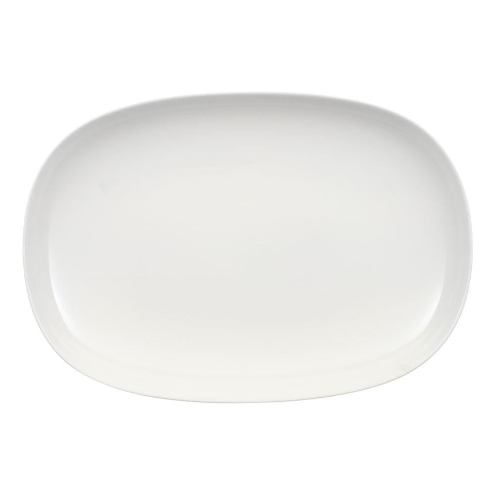 Bílá porcelánová servírovací miska Villeroy & Boch Urban Nature, 35 x 24 cm