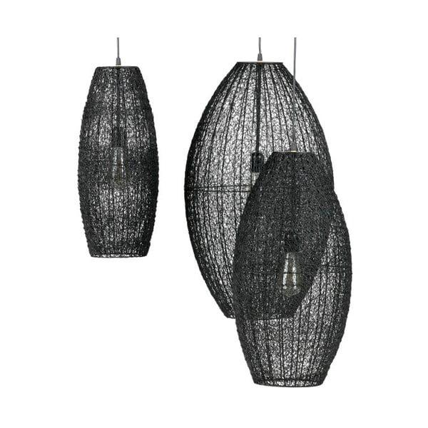 Lustră BePureHome Creative, ⌀ 40 cm, negru