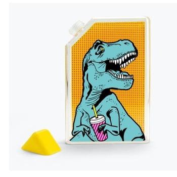 Sticlă de voiaj Just Mustard T-Rex, 375 ml imagine