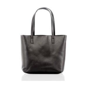 Černá kožená kabelka Glorious Black Irma
