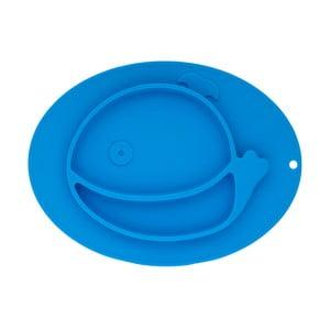 Modrý silikonový tác pro děti Brandani Baby