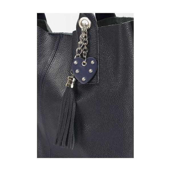 Kožená kabelka Giorgio Costa 15025 Blue