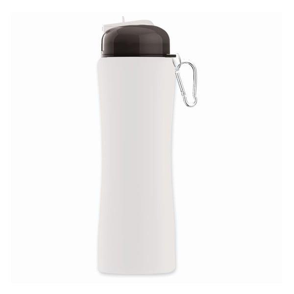 Revoluční sportovní lahev Sili-Squeeze, bílá, 650 ml