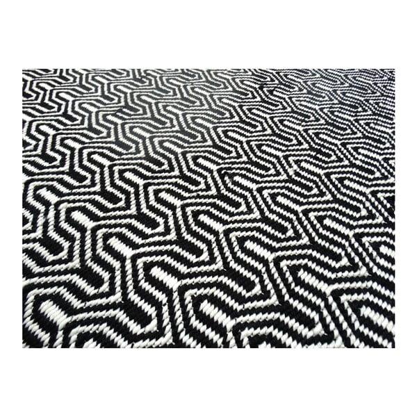 Koberec Spring 200 Black, 80x150 cm