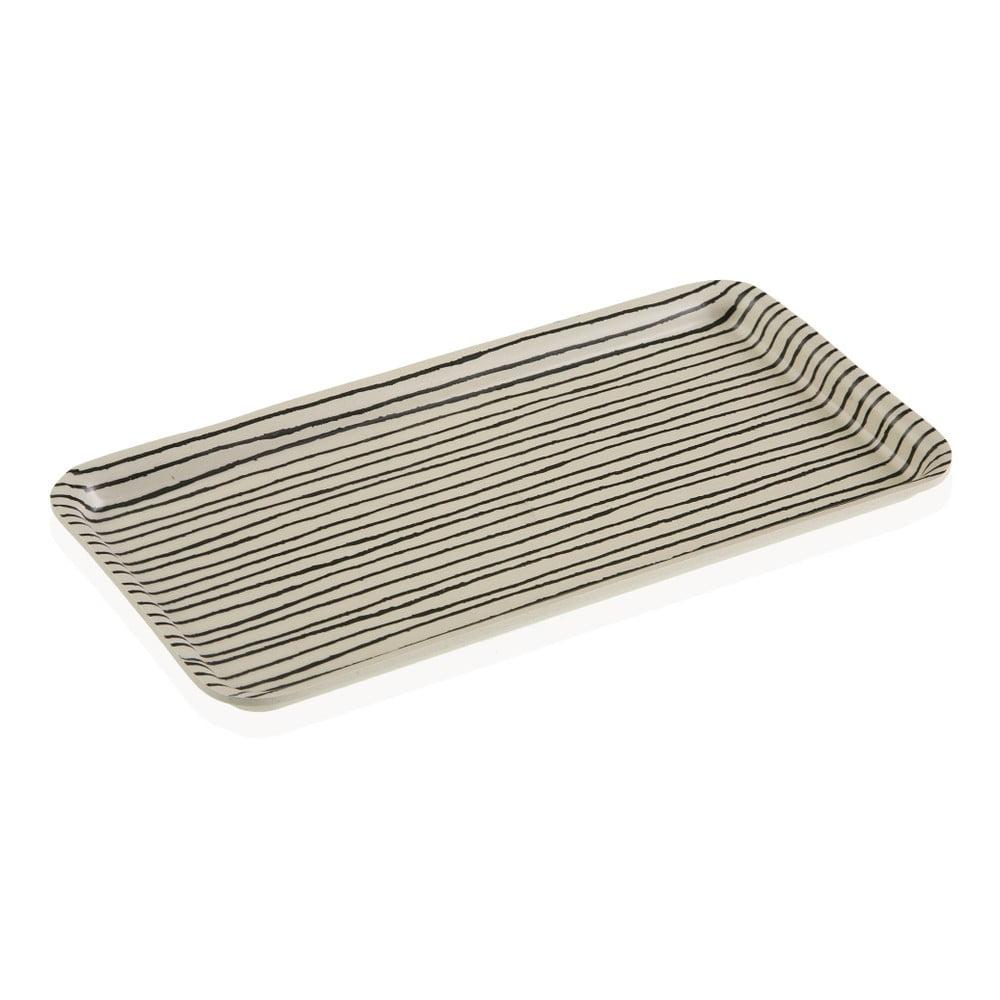 Bambusový podnos Versa Lines, 14 x 30 cm
