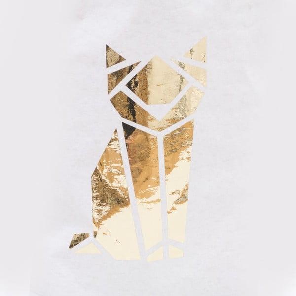 Papírový pytel Origami Katze Gold