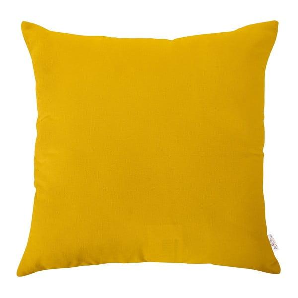 Żółta poszewka na poduszkę Apolena, 43x43 cm