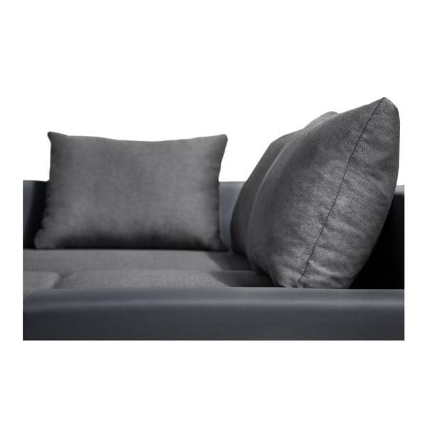 Antracitová sedačka Interieur De Famille Paris Aventure, levý roh
