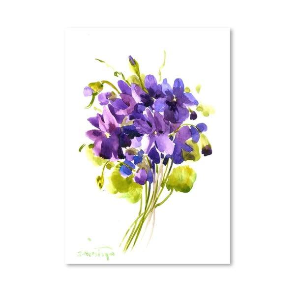 Plakát Little Violets od Suren Nersisyan