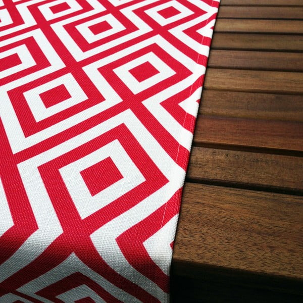 Běhoun na stůl Red Rug