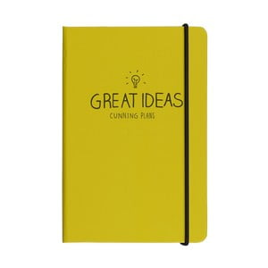 Agendă Happy Jackson Great Ideas Yellow, A5