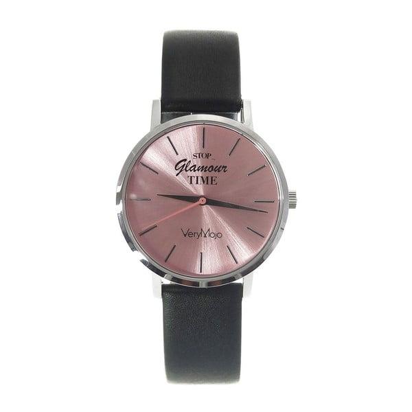 Černé hodinky VeryMojo Glamour Time