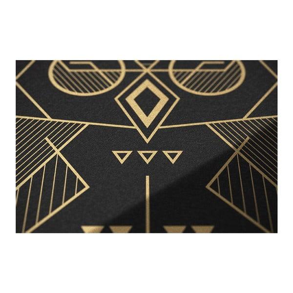 Plakát Owl Black/Gold, 50x70 cm