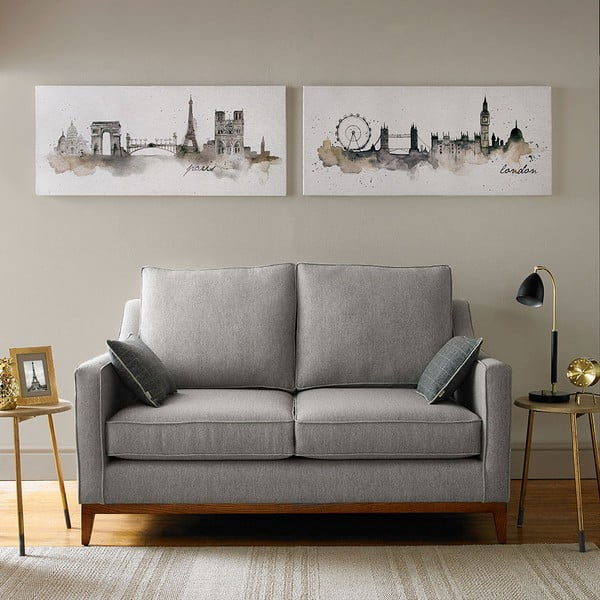 Tablou Graham & Brown London Watercolour, 120 x 50 cm