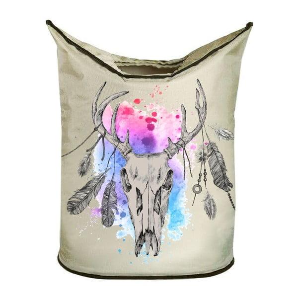 Koš na prádlo Deer Skull