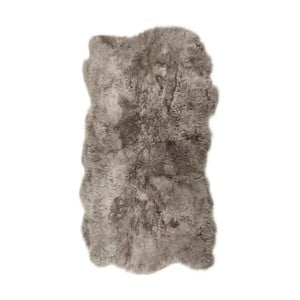 Covor din blană cu fir scurt  Nardo, 170 x 110 cm, gri bej