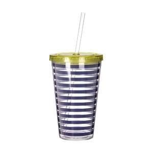 Pahar Premier Housewares Mimo Stripes, 450 ml