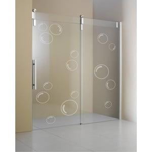 Samolepka Velké bubliny, efekt pískovaného skla