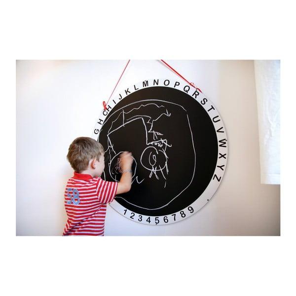 Kulatá tabule na kreslení Unlimited Design for kids