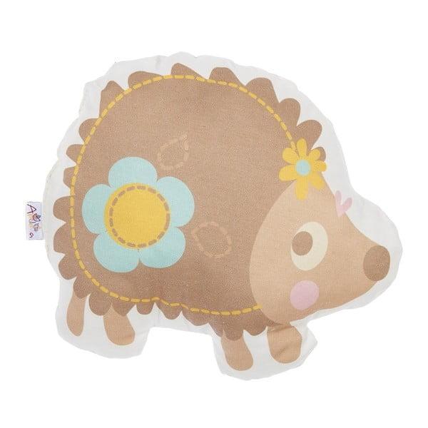 Detský vankúšik s prímesou bavlny Apolena Pillow Toy Hedgehog, 28 x 25 cm