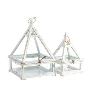 Sada 2 dekorativních boxů Ixia Francine