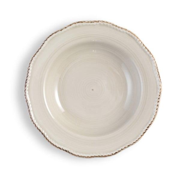 Střední krémový talíř Brandani
