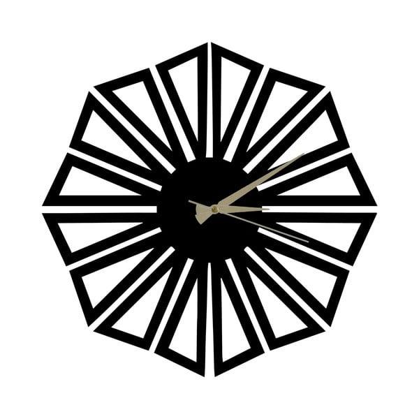 Metalowy zegar Dandelion, 60x50 cm