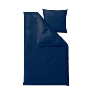 Lenjerie de pat Södahl Bricks, 140 x 200 cm, albastru închis