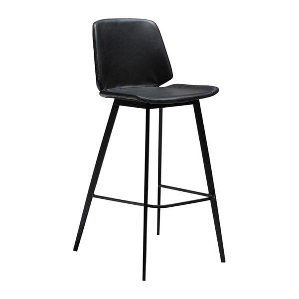 Čierna barová stolička DAN-FORM Denmark Swing
