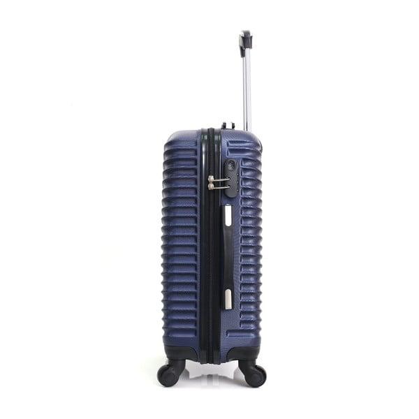 Tmavě modrý cestovní kufr na kolečkách Hero Etna, 61 l