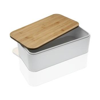 Cutie pentru pâine Versa Gourmet, alb-natural imagine
