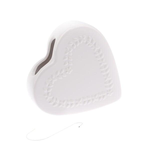 Heart fehér kerámia párásító - Dakls