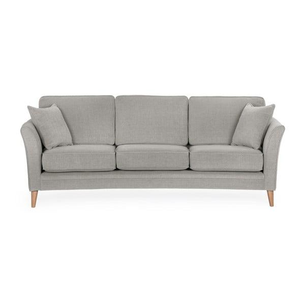 Szara sofa 3-osobowa Softnord Luiza