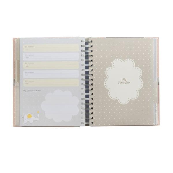 Knížka pro děti Baby Journal