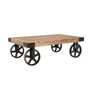 Pojízdní dřevěný konferenční stolek Actona Buffalo