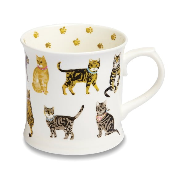 Cats on Parade porcelán bögre, 450 ml - Cooksmart ®