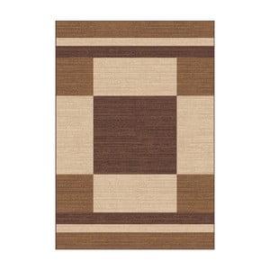 Hnědobéžový koberec Universal Boras Brown, 57x110cm