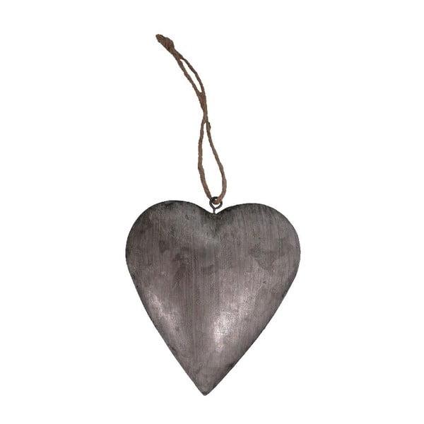 Kovová dekorace Heart