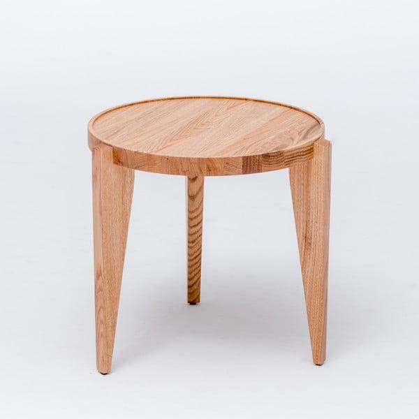Dubový kávový stolek Bontri, 50x38 cm