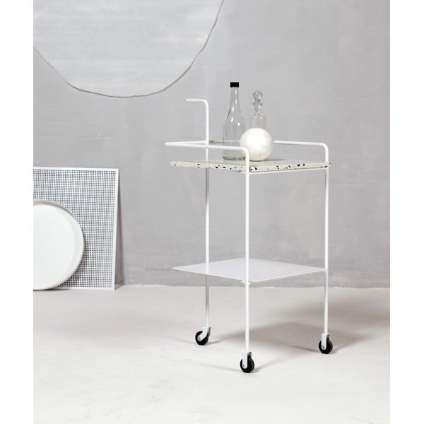 Servírovací stolek Trolley Confetti, černý