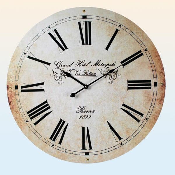 Nástěnné hodiny Grand Hotel Metropole