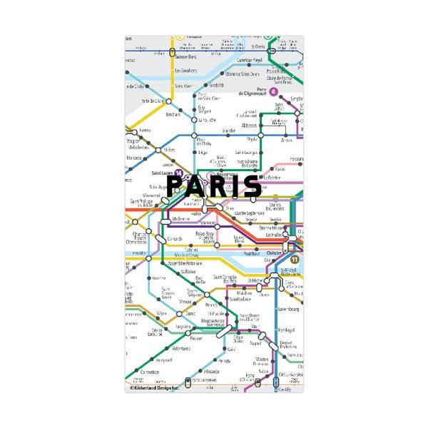 Hartă magnetică Kikkerland Paris
