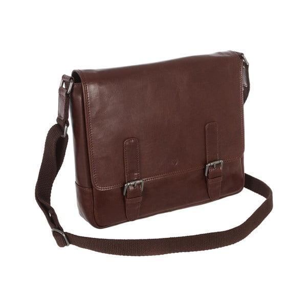 Pánská kožená taška Postie Brown