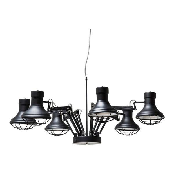 Černé stropní svítidlo  Kare Design MultiSpider