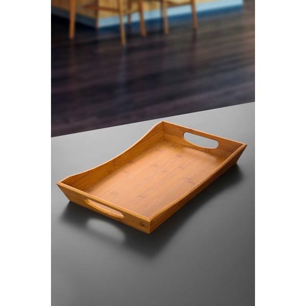 Tavă din bambus pentru servit Favoritte, 47x31 cm