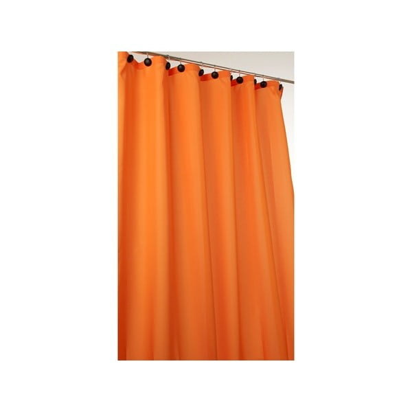 Sprchový závěs Comfort orange, 180x200 cm
