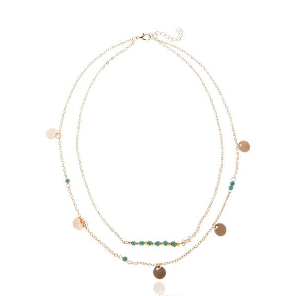 Antoinette aranyszínű nyaklánc - NOMA