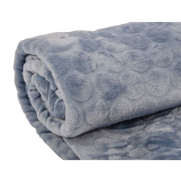 Pléd Softy Bleu, 125x150 cm